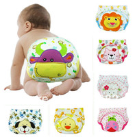 Wholesale Hot Free shiping waterproof Baby Training Pant underwear cotton learning study infant urine pants Carter s