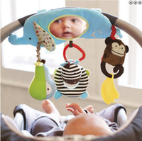 baby car toy mirror - Distorting mirror placarders multifunctional child mirror car hanging educational baby toys
