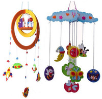 animal wind chimes - baby toy new juguetes baby toys months crib toy car lathe bed hanging puzzles DIY Wind chimes A270