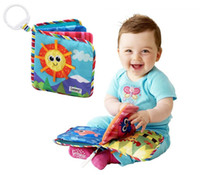 baby sun toys - Baby Toy Infant Sun Cloth Book Toys Musical Doll Early Development Books Toy Learning amp Education For Y