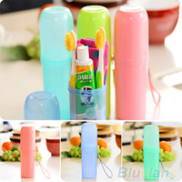 Wholesale Travel Camping Bath Toothbrush Toothpaste Holder Cover Protect Case Box Cup MVZ