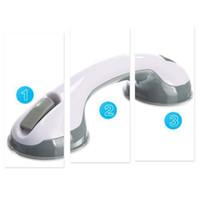 bathroom safety handrails - Suction Cup Handrail Handle Bathroom Shower Tub Room Super Grip Safety Grab Bar ZH056
