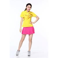 Wholesale shirts summer clothing women s badminton table tennis tennis clothes drying pants suit shirt group M L XL XL XL