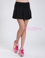 Wholesale Summer new milk silk skirt woman movement short sportswear badminton sports skirt tennis women skirt