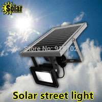 applied promotions - Promotion W LED Street light applied for solar energy lighting system Wall Lamps Outdoor Emergency Spot Lamp waterproof IP65