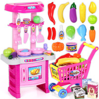 baby girl play - Child Kitchen Toys Set Classic Toys Cooking Tools Kids Pretend Play simulation Baby Girls Educational Brinquedos Meninas HL8058
