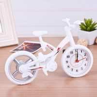 alarms gift items - HOT Seller Christmas Gift Alarm Clock In Bicycle Bike Novelty Items Multi Color Old Fashion Vintage Style Home Decoration