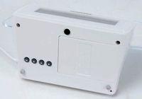 battery powered alarm clocks - Novelty Batteries amp USB Powered Decorate Blue Backlight Desk amp Shelf Digital Alarm Clock with Drawing Message Board in