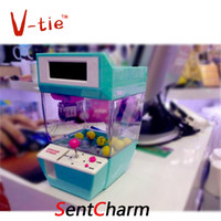 alarm machine - pc novelty red blue catcher alarm clock in catcher machine shaped alarm clock supplyed by AAA batteries