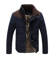 ai coat - Fall High Quality Man Jackets Flexible Warm Down Jackets Parka Overcoat Male Casual Cotton padded Fur Coat Hot Outdoor AI