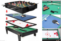 air hockey table game - in Multi Game Table For Children Pool Air Hockey Table Tennis Table Soccer