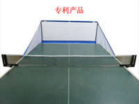 Wholesale Folding table tennis ball machine net ball net rack ball net Only the net does not include the table