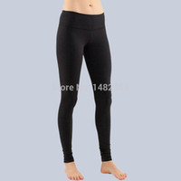 Wholesale lulu coolmax skinny rib outdoor fitness sport sportswear gym Yoga running exercise pants roupas femininas Crops Capris Legging