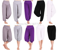 aladdin pants white - Yoga Meditation Bloomers Pants Harem amp Aladdin Pants Boho Trousers Closing Leg Yoga Pants Lulu pants