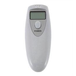 Wholesale Set Alcohol Breath Detector Test Tester Analyzer Breathalyzer Pocket Digital Testing