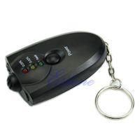 Wholesale N94 New Breathalyzer Keychain Led Breath Alcohol Tester With Flashlight