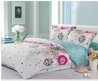 Wholesale cotton twill quilt AB edition duvet covers pure cotton bedding