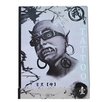 Wholesale Pages A4 Mixed Skull Devil Design Tattoo Art Book Flash Sketch Supplies