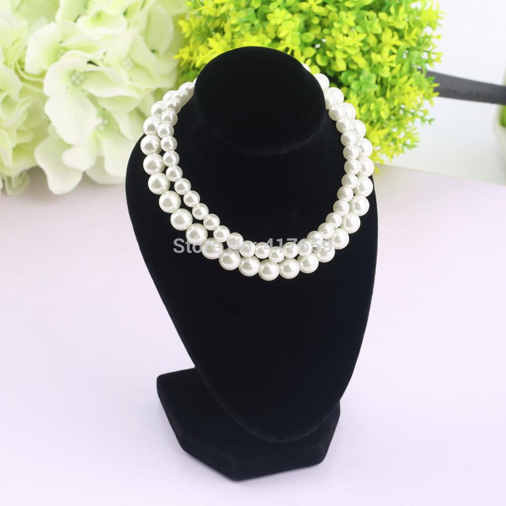 Online cheap wholesale black mannequin women lady girl for Lady mannequin jewelry holder