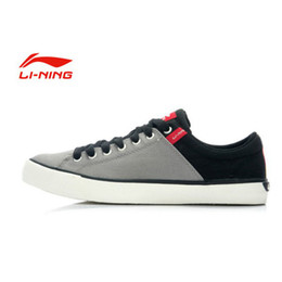 Wholesale Authentic Li Ning Men s Casual Shoes Life Shoes Sneakers Canvas Shoes