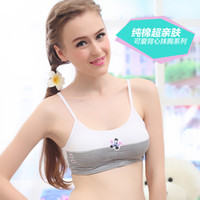 Cheap Wholesale-2015 summer development period girls bra girls training bra student bra girls sports bra sling vest