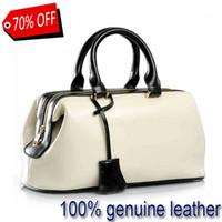 doctor bag - Genuine leather bag handbags summer style designer handbags high quality real leather handbags women famous brand Bags V8