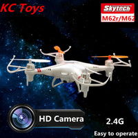 ar drone control - Skytech M62r G CH Axis Rc Helicopter Remote Control Quadcopter Toys Ar Drone With HD Camera dron Or M62 Without camera