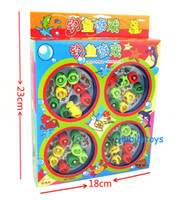 Wholesale Classic Fishing Toys kids play magnetic house play educational amp learning family game musical turning toy
