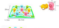 Wholesale Exempt postage d magnetic fishing fishing for goldfish child toys educational toys a total of eight goldfish