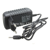 Wholesale for Tablet PC EU Plug Wall Charger Power adapter Black V A mm Charging port for Aoson M19 PIPO M2 M3 M8 M8 G Tablets