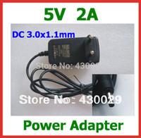 Wholesale V A DC x1 mm Charger EU US Power Supply Adapter for Tablet Huawei Mediapad Ideos S7 S7 Slim S7 U S7 W S7 C