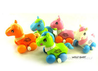 baby horse free - Retail Baby kids infants funny toys children wind up toys multicolor brightly colored horse new