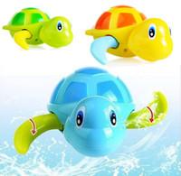 bath toys for children - Baby bath bathing swim clockwork toy turtle toys for children small animals kids toy menino toys for kid