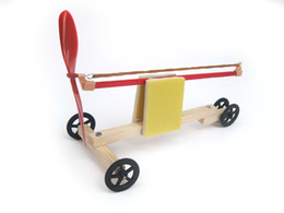 Wholesale Small production technology small diy elastic automobile race assembling model equipment child puzzle