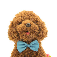 Wholesale Puppy Toy Shiny Cute Fashion Dog Cat Pet Puppy Toy Kid Cute Bow Tie Necktie Collar Clothes HQ