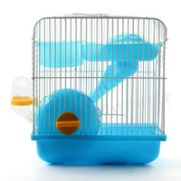 Wholesale Portable House Cage Set for Small Animal Hamster Gerbil Chinchillas Blue