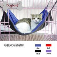 Wholesale The winter and summer by two multifunctional cat cat hammock supplies pet supplies cat bed