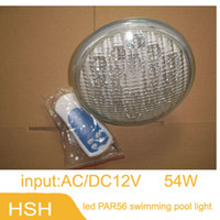 backyard fountain - LED Par56 Lamp of PVC ABS Material W UnderWater light AC12V for your Pool Fountain Garden Backyard