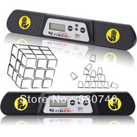 Wholesale QJ Competition Magic Cube Timer Black New Edition