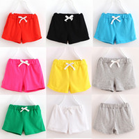 Wholesale Children clothing summer Brand boys and girls shorts baby cotton print dots pants
