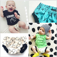 Pineapples - baby shorts bobo choses summer style striped pineapple milk bottle shorts kids pp shorts baby bloomers boys and girls pants