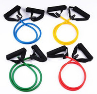 Wholesale A cable tension rope belt fitness yoga appliance arm apparatus hot sell new fashion colors athletics body building good