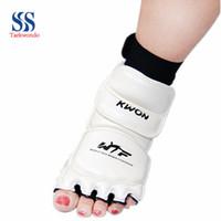 Wholesale Taekwondo foot protective sleeve Taekwondo Karate instep guard foot set