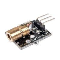 arduino laser - nm Laser sensor Module mm V mW Red Laser Dot Diode Copper Head for Arduino