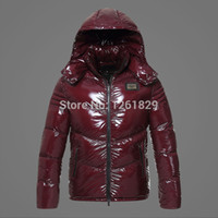 Wholesale Fall Direct Selling Special Offer Freeshipping Regular Mountain Shiny Nylon Casual Duck Down Jacket Men Winter Coat Man Sale