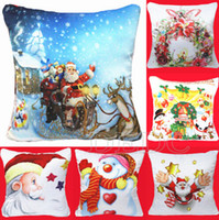 Wholesale Hot Fashion Sofa Throw Pillow Cushion Pillow Case Cover Home Decor Christmas H29