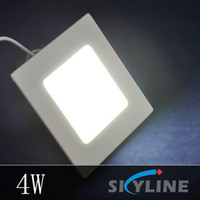 arcylic panel - AC85 V W LM Frosted Arcylic Mini Led Panel Light Lamp Square Shape with Power Adapter