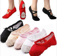 Wholesale Pls Check in posting Special Size convert soft sole girls ballet shoes Women Ballet Dance Shoes ladies flats kids adult