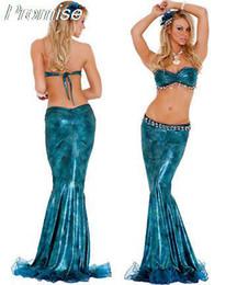 Wholesale Al por mayor nueva llegada de los trajes de Halloween para las mujeres de Cosplay de la sirena de la reina vestido de traje de charol RPG chica sexy uniformes femeninos