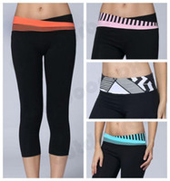 astro sports - Hottest Lulu Astro Under Crops Yoga Wear For Women Fitness Legging Sports Capris High Elasticity Breathability